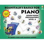 Beanstalk's Basics for Piano Lesson Book Preparatory Level A Book & Audio