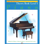 Alfred's Basic Piano Library Theory Book 5