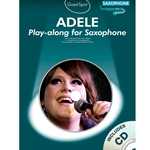 Adele Play Along Alto Sax  /CD