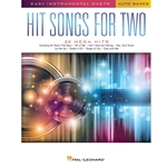 Hit Songs for Two Alto Sax Asx