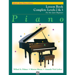 Alfred's Basic Piano Library Complete Lesson 2&3