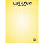 10,000 Reasons (Bless the Lord) Piano/Vocal/Guitar