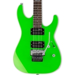 ESP LM50FRNGR Solid-Body Electric Guitar, Neon Green