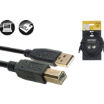 Stagg NCC3UAUB USB 2 Cable A (M)-B (M)