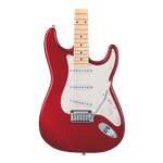Squier Standard Stratocaster - Maple Fingerboard - Candy Apple Red
