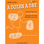 A Dozen A Day Book 4 & Online Audio