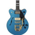 Gretsch G2655TG-P90 Limited Edition Center Block Jr. with Bigsby Riviera Blue Satin