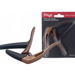 Stagg SCPX-CUDKWOOD Acoustic Guitar Capo Dark Wood