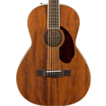 Fender 0960299221 Acoustic Electric Parlor Guitar  All-Mahogany  PM-2