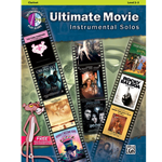 Ultimate Movie Instrumental Solos Clarinet Book & CD