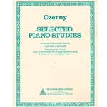 Czerny Selection Piano Studies Book 1