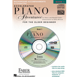 Accelerated Piano Adventures Lesson 1 CD's