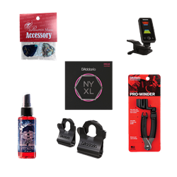 Electric Guitar Accessory Package Deluxe