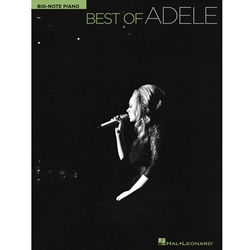 Best of Adele Big Note