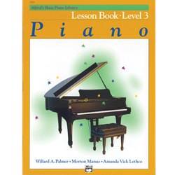 Alfred's Basic Piano Library Lesson Book 3