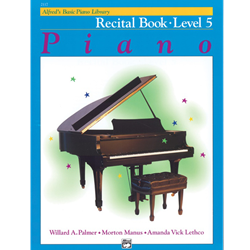 Alfred's Basic Piano Library Recital Book, Book 5