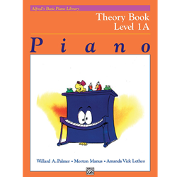 Alfred's Basic Piano Library Theory Book 1A