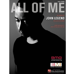 All of Me Easy Piano Sheet