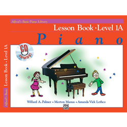 Alfred's Basic Piano Library Lesson Book 1A with CD
