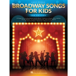 Broadway Songs for Kids 2nd Ed Easy Piano EP