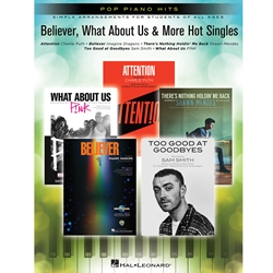 Believer What about us & More Easy Piano EP