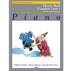 Alfred's Basic Piano Library Complete Theory 1