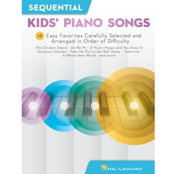 Sequential Kids Piano Songs Easy Piano