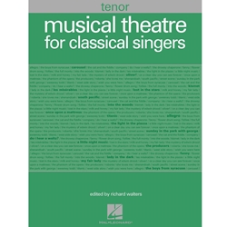 Musical Theatre for Classical Singers Tenor