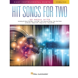 Hit Songs for Two Violin Vln