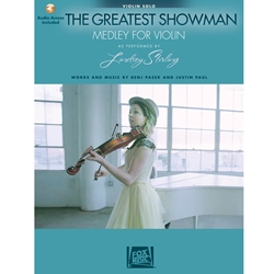 The Greatest Showman Medley For Violin Solo Audio Access