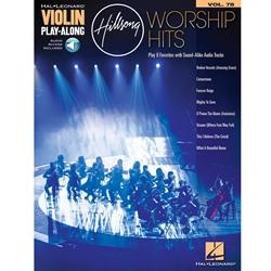 Hillsong Worship Hits Violin Play Along /Audio Access