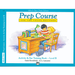 Alfred's Basic Prep Course Activity & Ear Training Book B