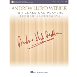 Andrew Lloyd Webber for Classical Players Violin and Piano /Audio Access