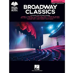 Broadway Classics Women's Edition Vocal Sheet Music /Piano and Guitar