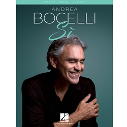 Andrea Bocelli Si Piano/Vocal/Guitar
