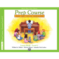 Alfred's Basic Piano Library Prep Lesson C