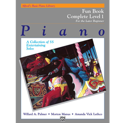 Alfred's Basic Piano Library Complete Fun 1