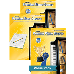 Premier Piano Course Lesson Theory & Performance 1B Value Pack