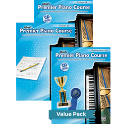 Alfred's Premier Piano Course Lesson Theory & Performance 2A Value Pack