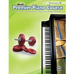 Alfred's Premier Piano Course, Technique 2B