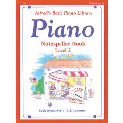 Alfred's Basic Piano Library Notespeller Book 2