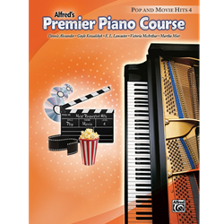 Alfred's Premier Piano Course, Pop and Movie Hits 4