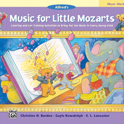 Music for Little Mozarts Music Workbook Book 4