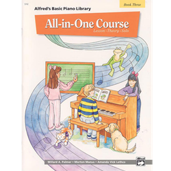 Alfred Basic Piano Library All In One 3