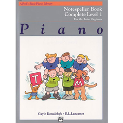 Alfred's Basic Piano Library Complete Notespeller 1