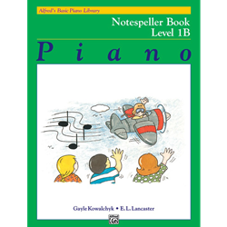 Alfred's Basic Piano Library Notespeller 1b
