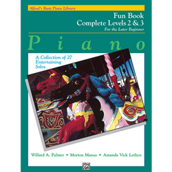 Alfred's Basic Piano Library Complete Fun 2&3