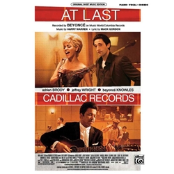 At Last (from Cadillac Records) Piano/Vocal/Chords