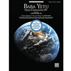 Baba Yetu (from the Video Game Civilization IV) Piano/Vocal/Chords