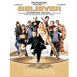 Believer (from Be Cool) Piano/Vocal/Chords